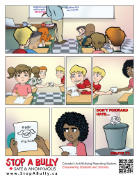 Stop A Bully comic